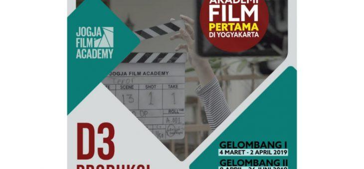 Penerimaan Mahasiswa Baru Akademi Film Yogyakarta GELOMBANG 2